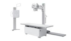 Floor-mounted Radiography