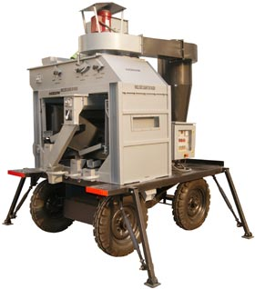 Mobile Seed Cleaner cum Grader