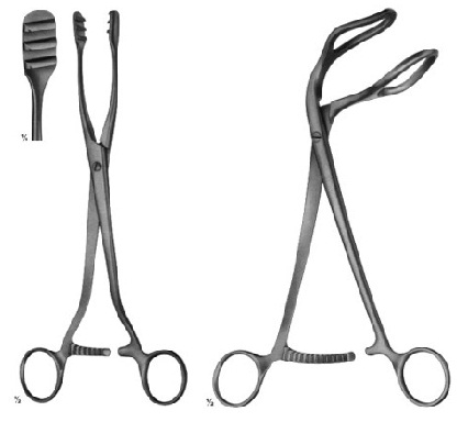 Uterine Elevating Forceps