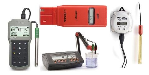 Multi Parameter Meters (pH, EC, TDS, ORP, Temp, Salinity)