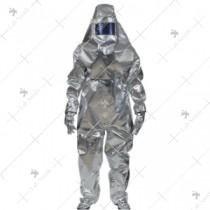 Aluminized 3 Layer Fire Proximity Suit