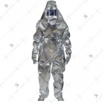 Aluminized 2 Layer Fire Proximity Suit