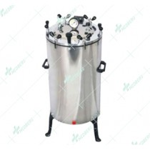 Vertical Autoclave/Sterilizer Stainless Steel (ECONOMY MODELS), Wing Nut Type.