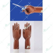 Orthopaedic Latex Surgical Gloves Sterile Powderfree