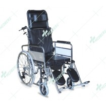 Commode Wheelchair(Stroke/Pamplegia)