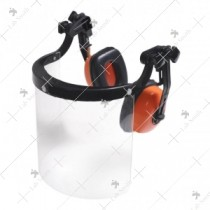 Combo Unit Of Earmuffs And Faceshield