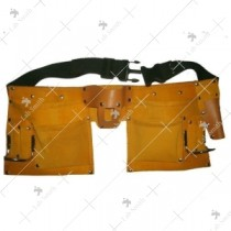 Pocket Leather Tool Bag Belt