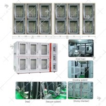 Freeze dryer (Bulk tray type - GMP/Clean room model : Production scale - Square type - Independent type)