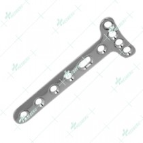 "3.5mm Small ""T"" Plate, Right Angled, (4 Head Holes)"