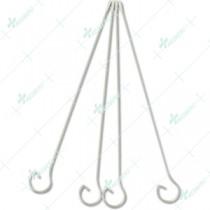 Looped handle Alu shaft applicator