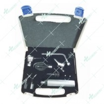 Diagnostic set (Pin Contacting Fitting) 2.5V standard illumination for use with 2 batteries type