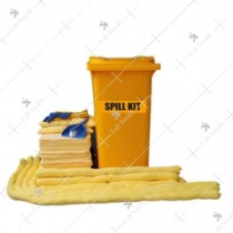 Saviour Hazmat Spill Kit (96 Ltrs/25 Gallons) Powered By : 3M