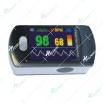 Finger Tip Pulse Oximeter With Alarm