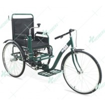 Steel Tricycle Wheelchair