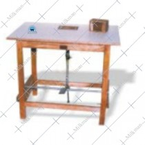 Butter Print table, Paddle Operated of 4 Cavity Block