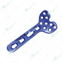 2.4mm Wise Lock Volar Column Distal Radius Plate (9 Head Holes)