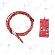 Multi Purpose Cable Lock Scissor Type