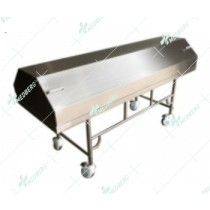 Mortuary Corpses Transfer Cart with lid