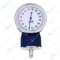 Euro-Type Non-Stop Pin Meter Sphygmomanometer Gauge