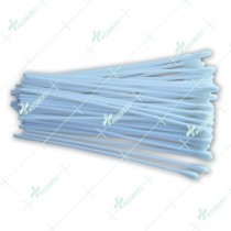 Polyester tipped applicator