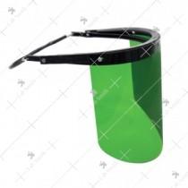 Saviour Universal Metal Bracket Faceshield [Green]