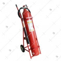 Fire Extinguisher ABC Trolley [Outside CO2 Cylinder 75 Kgs.]