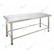 Dissecting Cart mortuary autopsy stainless steel table