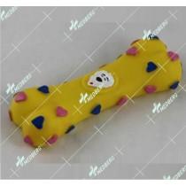 Bone and dumbbell shape of squeak vinyl toys