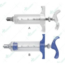 Plastic Steel Syringe D-Type (TPX/PC)