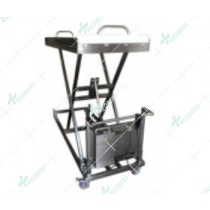 Mortuary corpses lifting cart/ Hydraulic Lifter