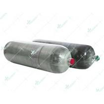 High pressure carbon fiber composite gas cylinder