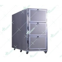 Morgue Refrigerator with three rooms