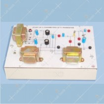 Study of Hybrid Parameters of a Transistor