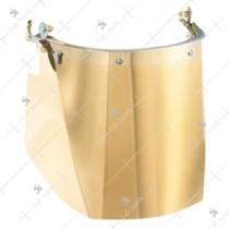 Honeywell Supervisor Poly carbonate Visor [Gold ]
