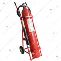 Fire Extinguisher ABC Trolley [Outside CO2 Cylinder 25 Kgs.]