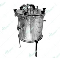 Autoclaves /Pressure Steam Sterilizers (Aluminum) - Economy Mirror / Polished Finish – Wing Nut Type