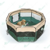 Portable Lightweight Pet Playpen with Eight Panels