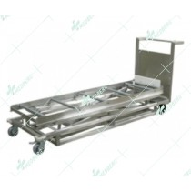 Mortuary Trolley Lifter Hydraulic Lifter