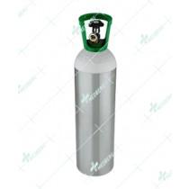 Aluminum Cylinder 15 Ltr W.C.