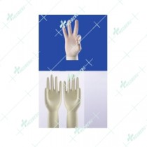 Latex Examination Gloves Sterile Powderfree (Chlorinated / Polymer Coated)