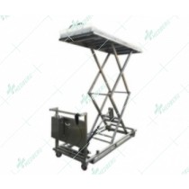 Two scissors body lifting cart, with electrical models.