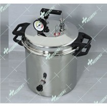 Autoclaves/ Pressure Steam Sterilizers, Stainless Steel - Seamless, Pressure Cooker type (P type)