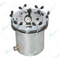 Autoclaves / Pressure Steam Sterilizers, Stainless Steel  – Wing Nut Type