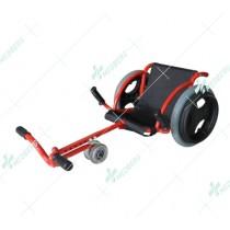 Wheelchair with Four-Driving Wheels(Rehabilitation)