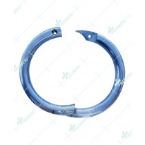 Self-Piercing Bull Nose Ring Aluminum