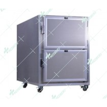 Morgue Refrigerator with 2 rooms: