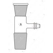 Adapters, Socket to cone with Tee Connection.