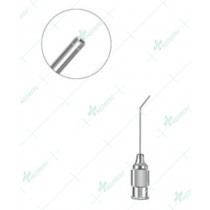 Air Injection Cannula, angled at 5mm, 30 gauge