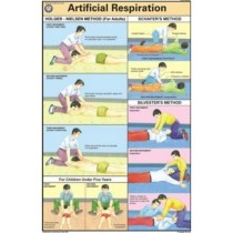Artificial Respiration Chart