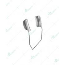 Barraquer Wire Speculum, 10 mm solid blades